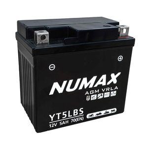 YT5L-BS Numax Motorbike Battery