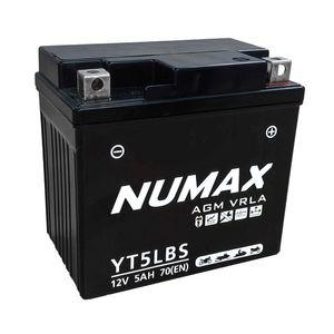 YT5L-BS Batterie De Moto Numax