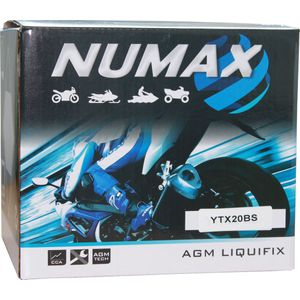YTX20-BS Numax Motorbike Battery