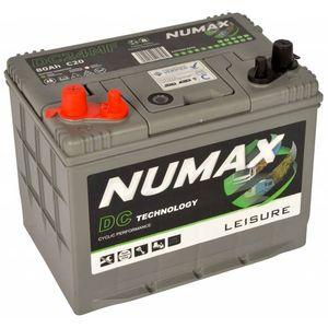 DC24MF Numax Leisure Battery 12V 80Ah