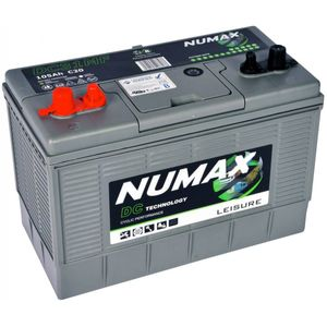 DC31MF Numax Leisure Battery 12V 105Ah
