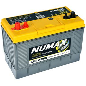 XDC31MF Numax Leisure Battery 12V 105Ah