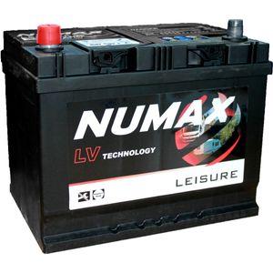 Numax LV22MF Sealed Leisure Battery 12V 75Ah