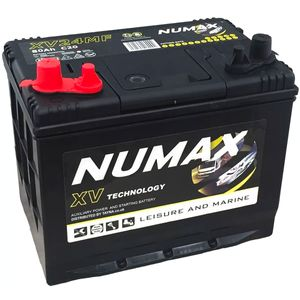Numax CXV24MF   Sealed Leisure Battery   12V 80Ah 780MCA   500 Cycles XV24MF