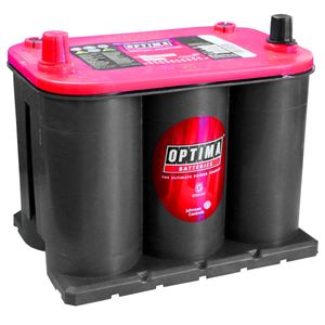Optima Red Top Battery RTS 3.7  (8020-255)  (BCI 25) RTS3.7 AGM