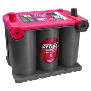 Optima Red Top Battery RTU 3.7  (8022-255)  (BCI 75) RTU3.7 AGM