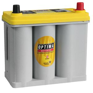 Optima Yellow Top Battery YTS 2.7 R (Reversed) (8073-176) (D51R) YTS2.7R YTR2.7 AGM