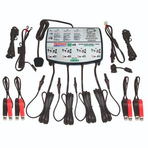 Optimate Lithium 0.8x4 12V 0.8A Motorcycle Battery Charger & Optimiser