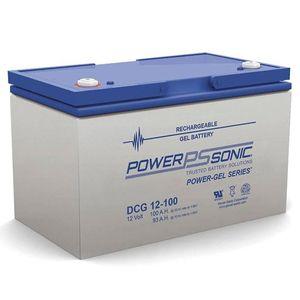 DCG12-100 Power Sonic Deep Cycle GEL Battery 100Ah