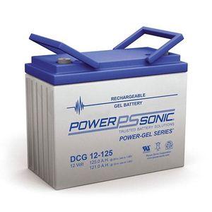 DCG12-125 Power Sonic Deep Cycle GEL Battery 125Ah