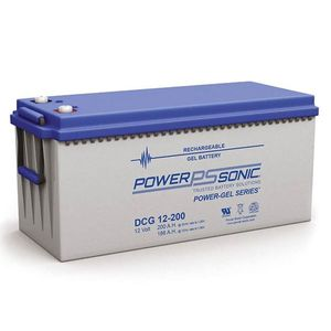 DCG12-200 Power Sonic Deep Cycle GEL Battery 200Ah