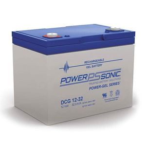 DCG12-32 Power Sonic Deep Cycle GEL Battery 32Ah