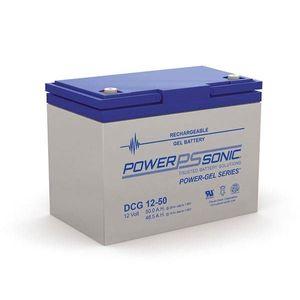 DCG12-50 Power Sonic Deep Cycle GEL Battery 50Ah