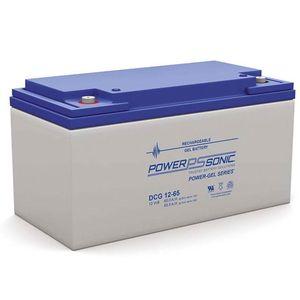 DCG12-65 Power Sonic Deep Cycle GEL Battery 65Ah