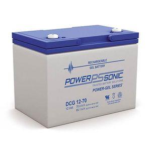 DCG12-70 Power Sonic Deep Cycle GEL Battery 70Ah