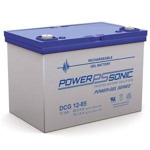 DCG12-85 Power Sonic Deep Cycle GEL Battery 85Ah