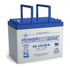 PG-12V100 Power Sonic VRLA Battery 104Ah