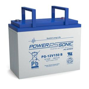 PG-12V150 Power Sonic VRLA Battery 154Ah