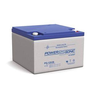 PG-12V28 Power Sonic VRLA Battery 30Ah