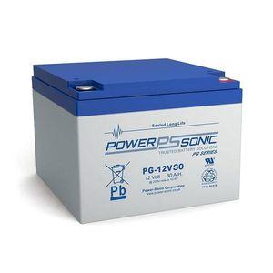 PG-12V30 Power Sonic VRLA Battery 29.6Ah