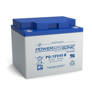 PG-12V45 Power Sonic VRLA Battery 45Ah