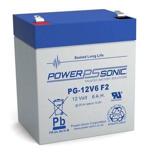 PG-12V6 Power Sonic VRLA Battery 5.8Ah