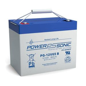 PG-12V65 Power Sonic VRLA Battery 65Ah