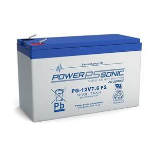 PG-12V7.6 Power Sonic VRLA Battery 7.8Ah