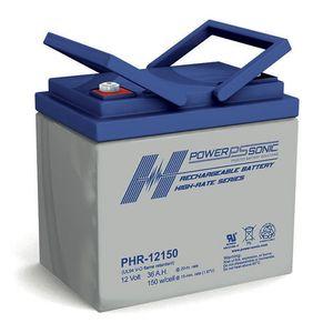 PHR-12150 Power Sonic High Rate VRLA Battery 36Ah