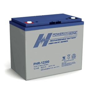 PHR-12200 Power Sonic High Rate VRLA Battery 58Ah