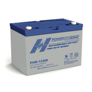 PHR-12300 Power Sonic High Rate VRLA Battery 82Ah
