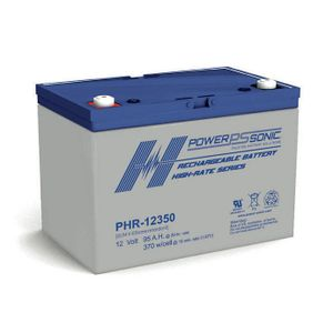 PHR-12350 Power Sonic High Rate VRLA Battery 95Ah
