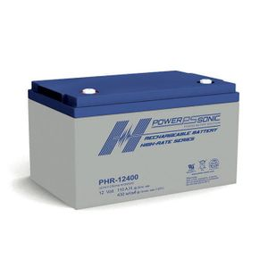 PHR-12400 Power Sonic High Rate VRLA Battery 110Ah