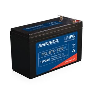 PSL-BTC-1290 Power Sonic Lithium Bluetooth Battery 9Ah