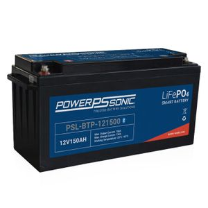 PSL-BTP-121500 Power Sonic Lithium Bluetooth Battery 150Ah