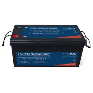 PSL-BTP-123000 Power Sonic Lithium Bluetooth Battery 300Ah