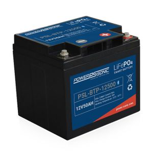PSL-BTP-12500 Power Sonic Lithium Bluetooth Battery 50Ah