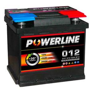 012 Powerline Car Battery 12V