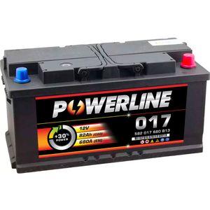 017 Powerline Car Battery 12V