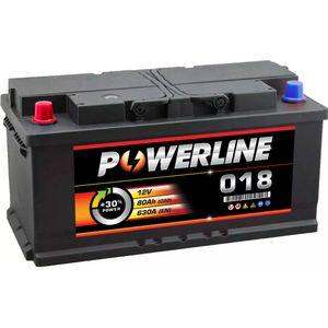 018 Powerline Car Battery 12V