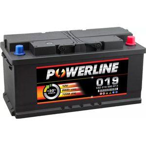 019 Powerline Car Battery 12V