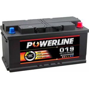 019 Powerline Car Battery 12V