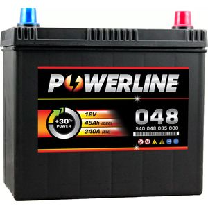 048 Powerline Car Battery 12V