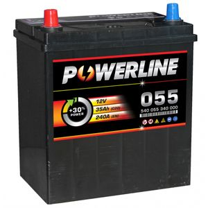 055 Powerline Car Battery 12V