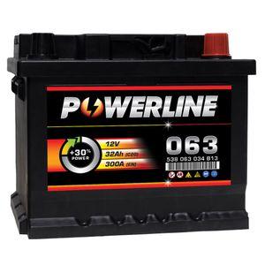 063 Powerline Car Battery 12V