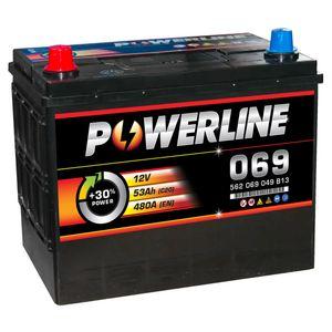 069 Powerline Car Battery 12V