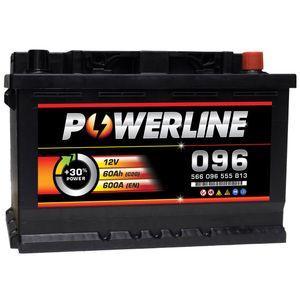 096 Powerline Car Battery 12V