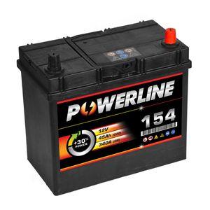 154 Powerline Car Battery 12V