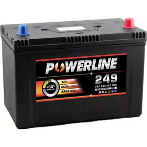 249 Powerline Car Battery 12V