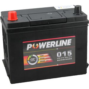 015 Powerline Car Battery 12V